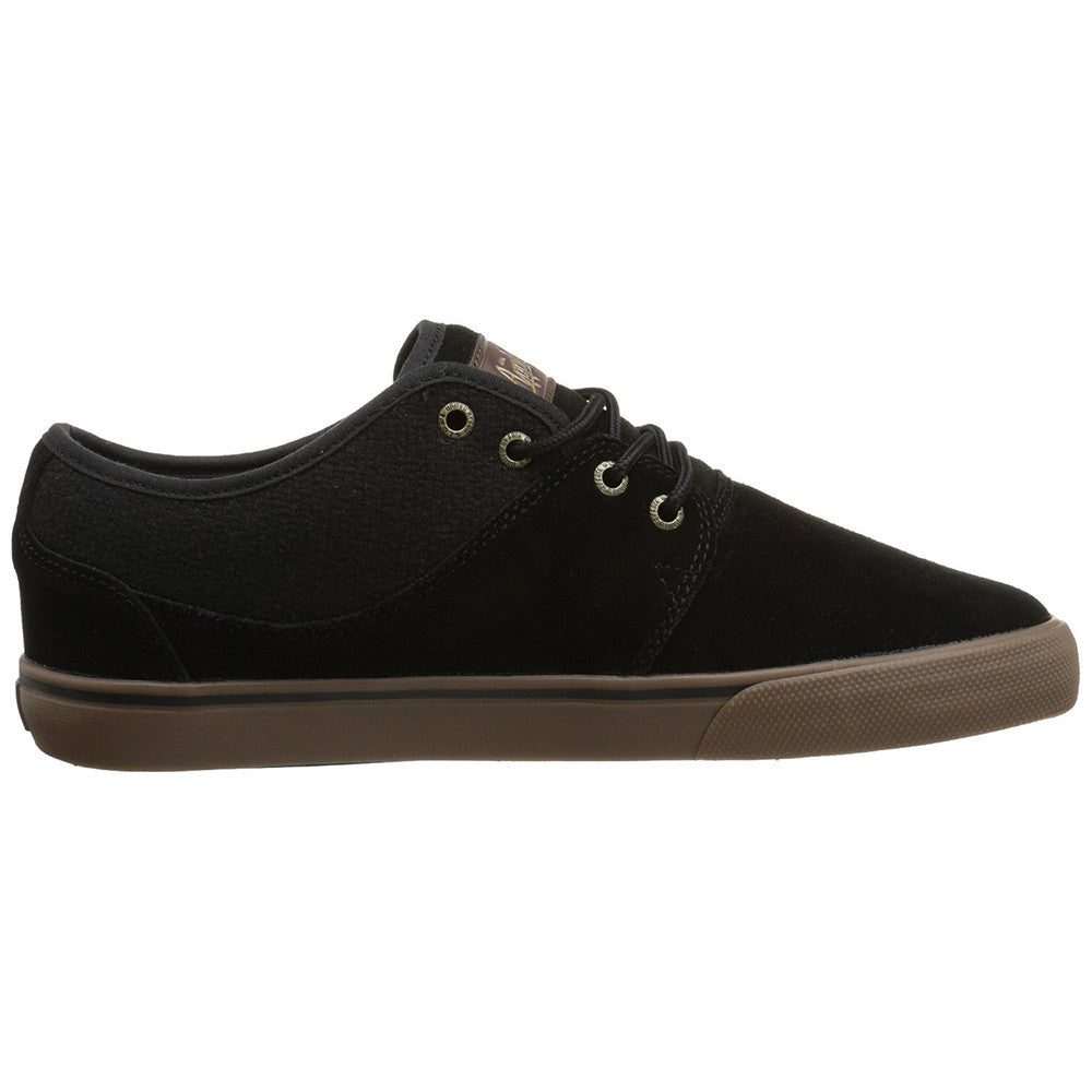 Globe Mahalo - Black/Tobacco Gum - Skateboard Shoes