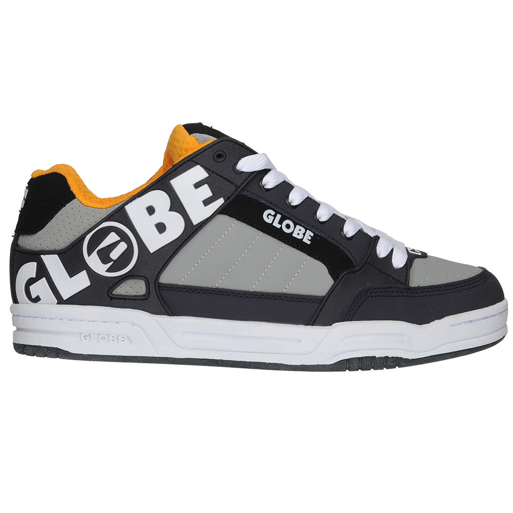 Globe Tilt - Grey/Orange - Skateboard Shoes