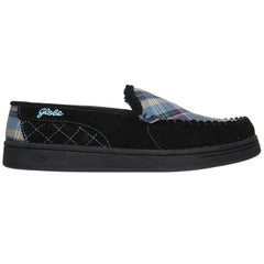 Globe Castro - Black/Blue Plaid - Men's Skateboard Shoes