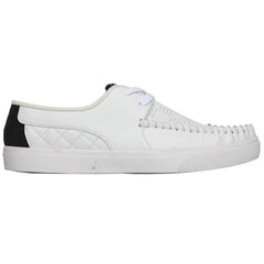 Globe Castro United - White/White/Black - Men's Skateboard Shoes