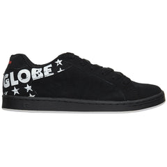 Globe Focus - Black/White/Stars - Men's Skateboard Shoes