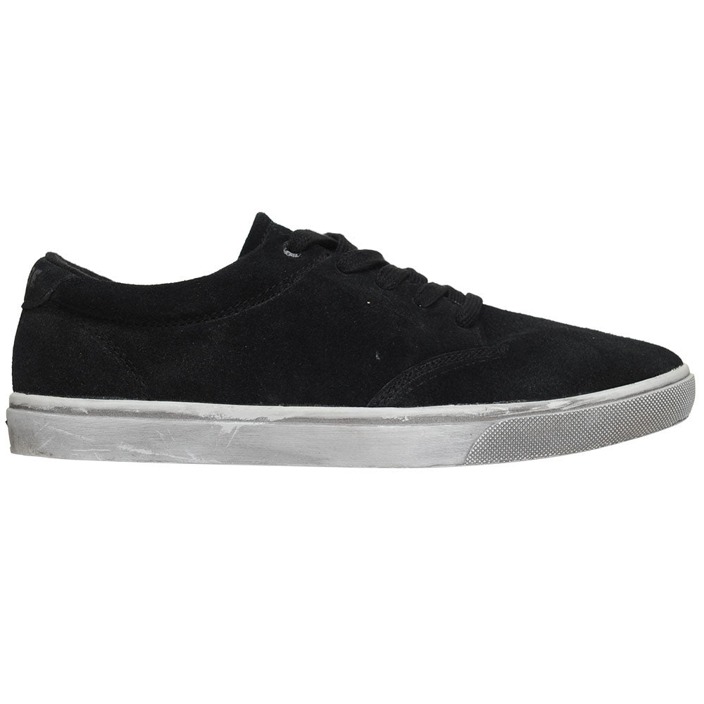 Globe Lighthouse - Black Dirty Suede - Men's Skateboard Shoes
