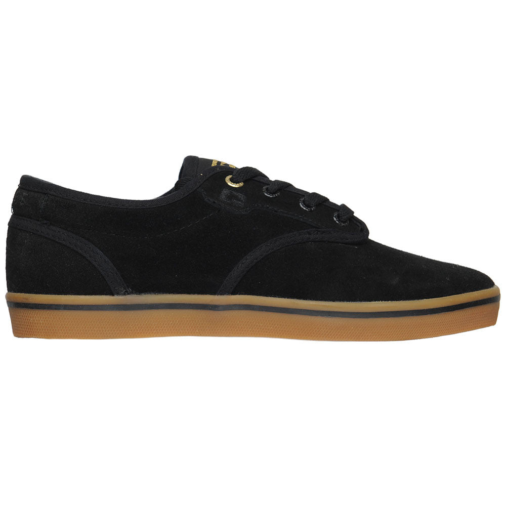 Globe Motley - Black/Gum - Men's Skateboard Shoes