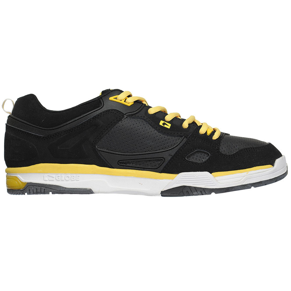 Globe Raid - Black/Gold - Men's Skateboard Shoes