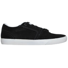 Globe The Eaze - Black/White/Freyed - Men's Skateboard Shoes