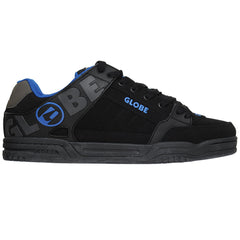 Globe Tilt - Black/Blue/Charcoal TPR - Men's Skateboard Shoes