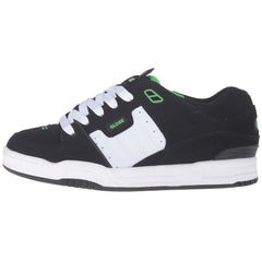 Globe Fusion - Black/White/Green - Skateboard Shoes