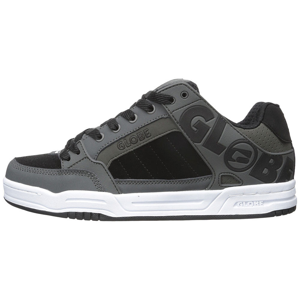 Globe Tilt - Charcoal/White/Black - Skateboard Shoes