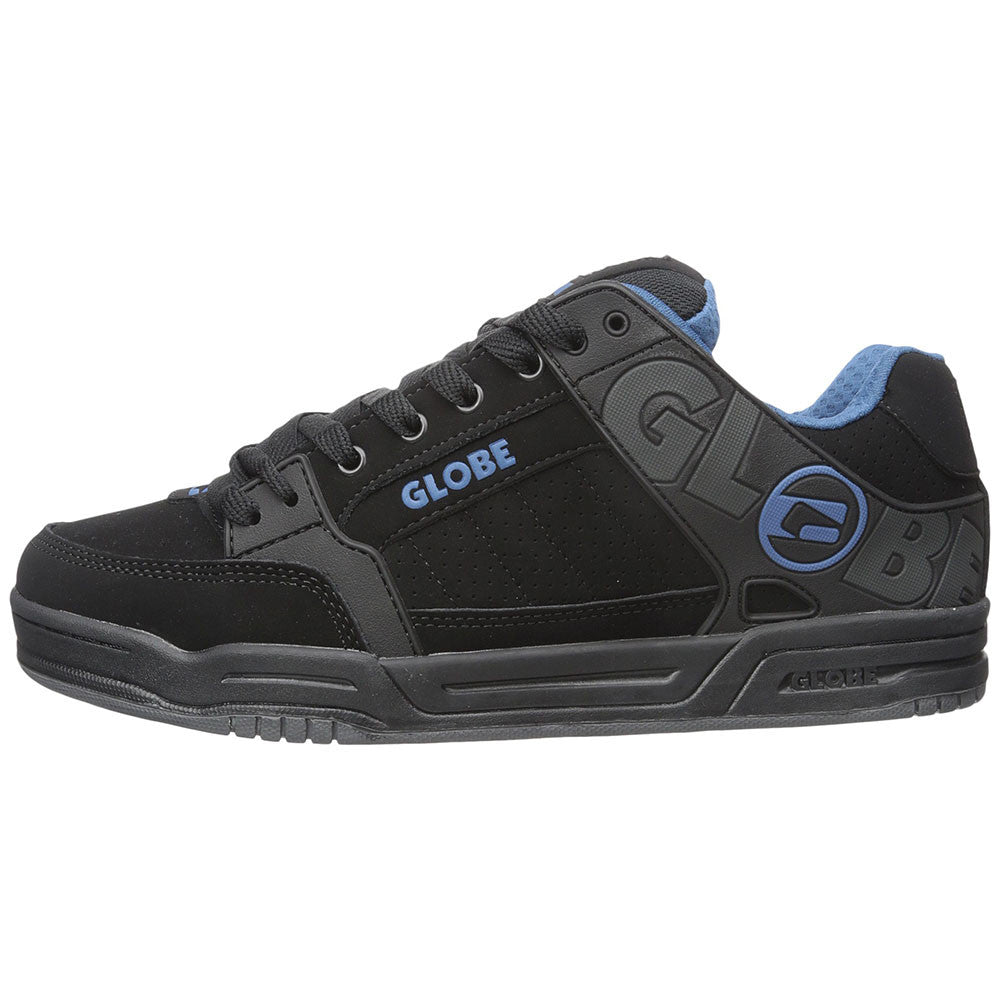Globe Tilt - Black/Black/Blue - Skateboard Shoes