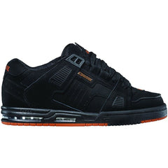 Globe Sabre - Black/Black/Orange - Skateboard Shoes