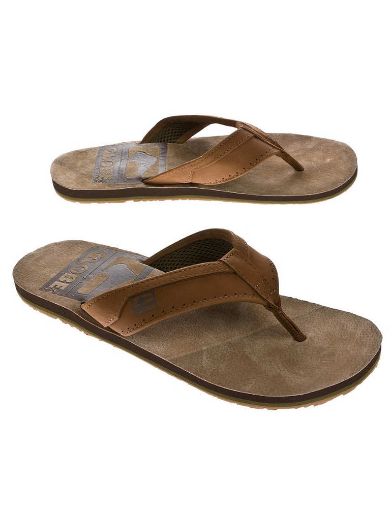 Globe Base Mens Sandals - Tobacco / Char