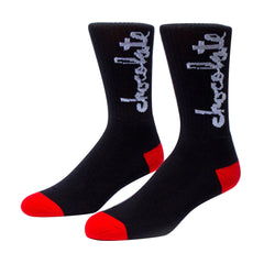 Chocolate Chunk - Black - Men's Socks (1 Pair)
