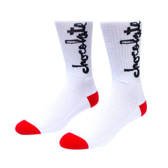 Chocolate Chunk - White - Men's Socks (1 Pair)