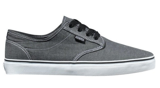 DVS Rico CT - Black Chambray 004 - Skateboard Shoes