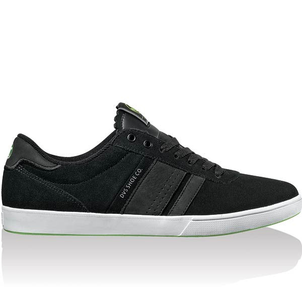 DVS Fulham - Black Suede 001 - Skateboard Shoes