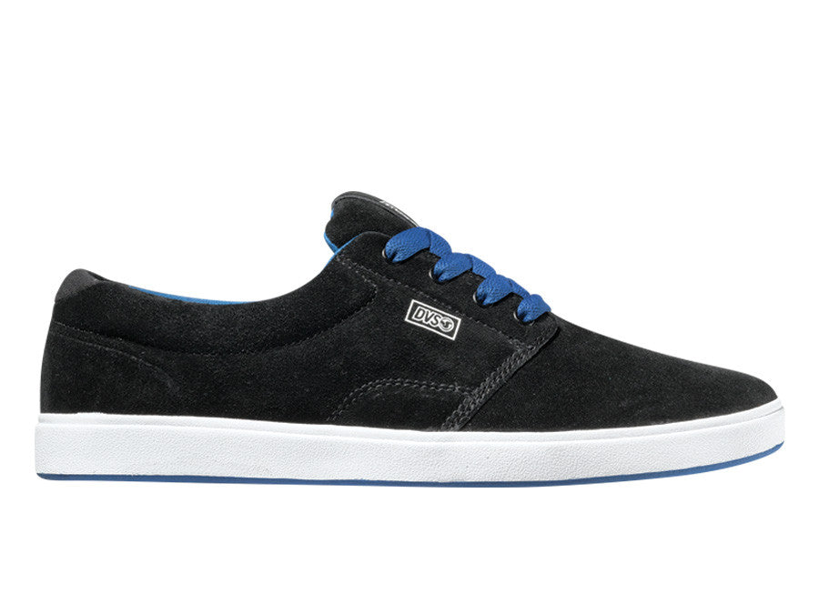 DVS Daewon 13 HL - Black Suede 001 - Skateboard Shoes