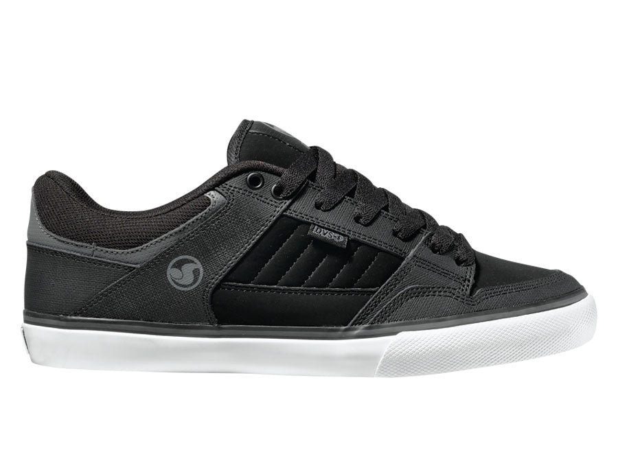 DVS Ignition CT  - Black/Grey Leather 009 - Skateboard Shoes