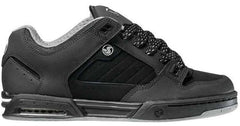 DVS Militia Heir - Black High Abrasion Leather 001 - Skateboard Shoes