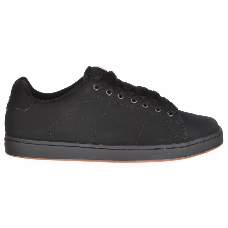 DVS Gavin 2 - Black/Gum Nubuck 010 - Skateboard Shoes