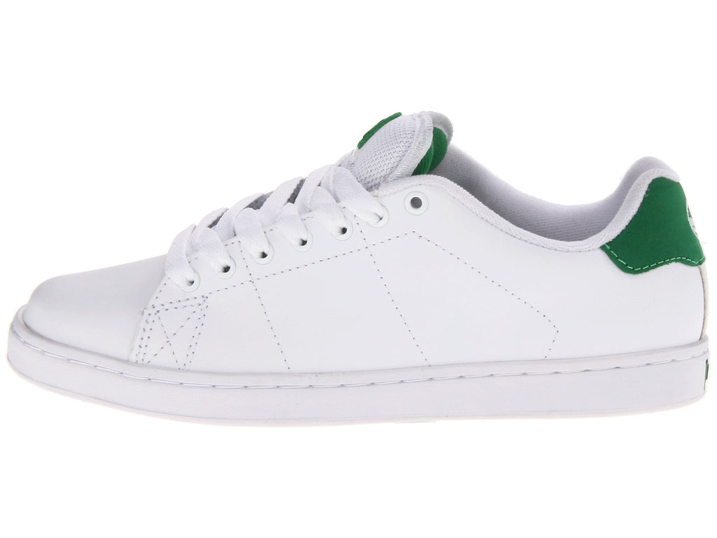 DVS Gavin 2 - White Leather 102 - Skateboard Shoes