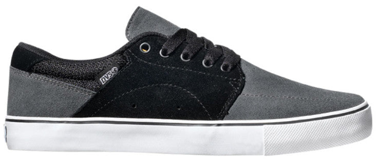 DVS Jarvis - Black/Grey Suede 002 - Skateboard Shoes