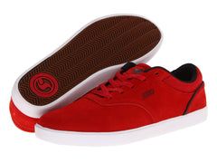 DVS Lucid - Red Suede 600 - Skateboard Shoes
