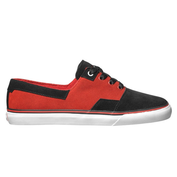 DVS Torey 2 - Black/Red Suede 005 - Skateboard Shoes