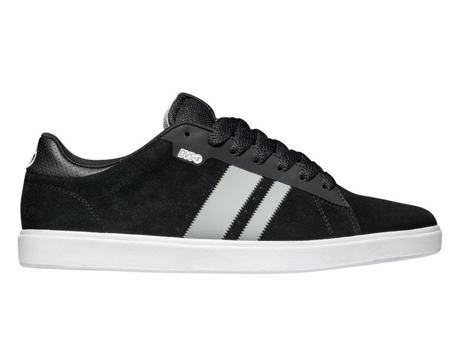 DVS Halsted - Black Suede 001 - Men's Shoes