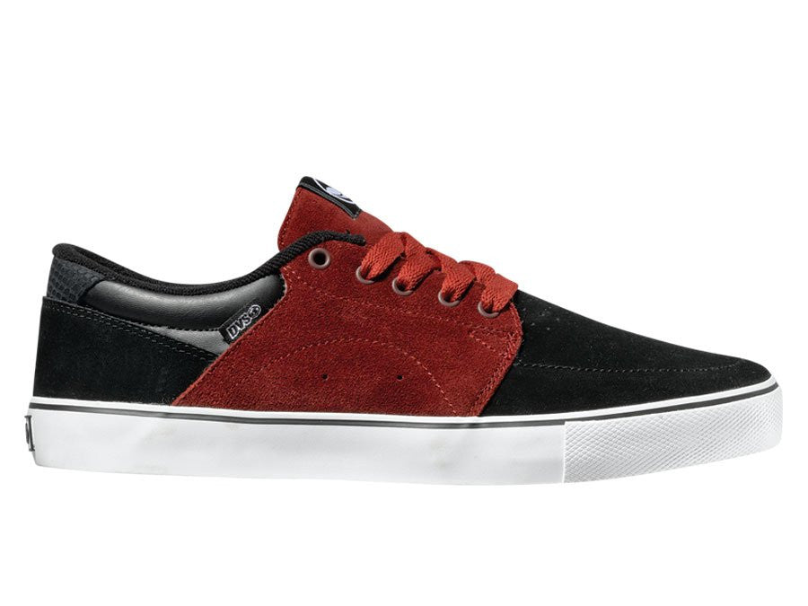 DVS Jarvis - Black/Port Suede 003 - Skateboard Shoes