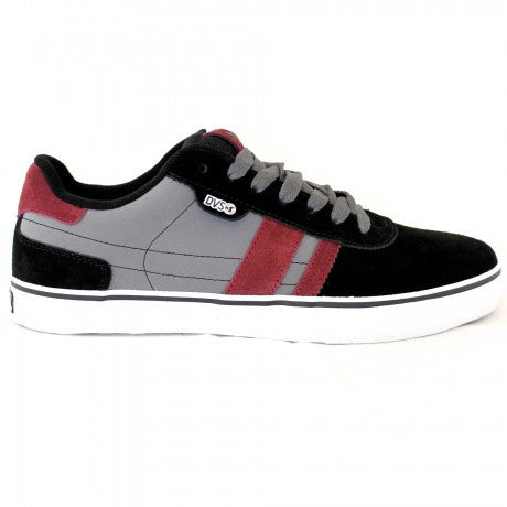 DVS Milan 2 CT - Black/Grey Suede 014 - Skateboard Shoes