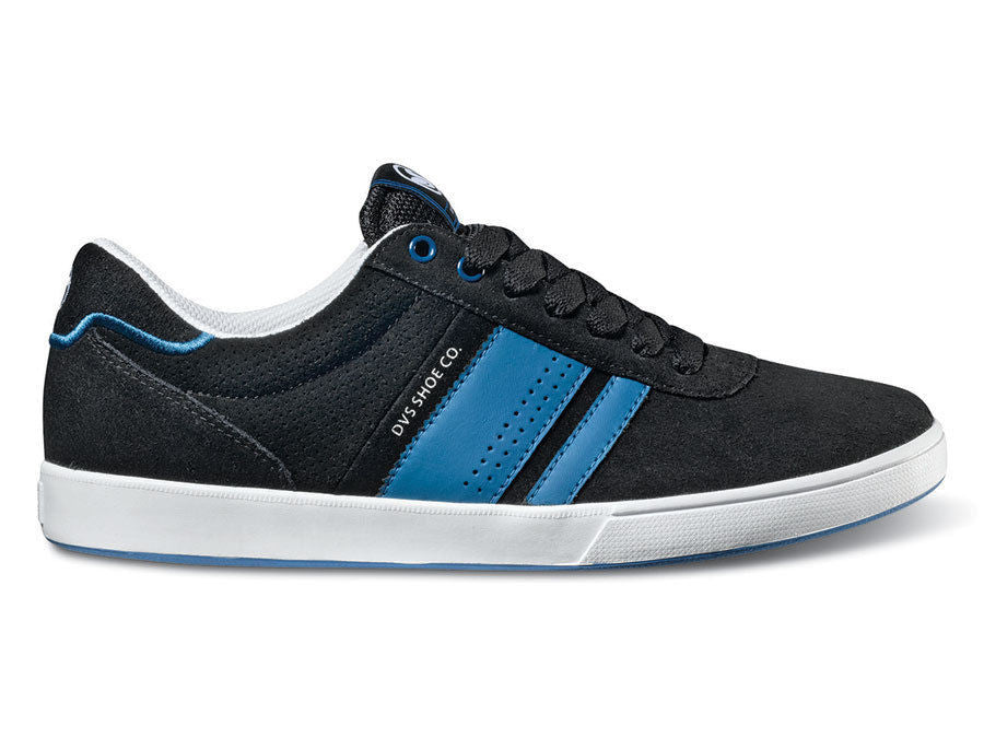 DVS Fulham - Black Suede 004 - Skateboard Shoes