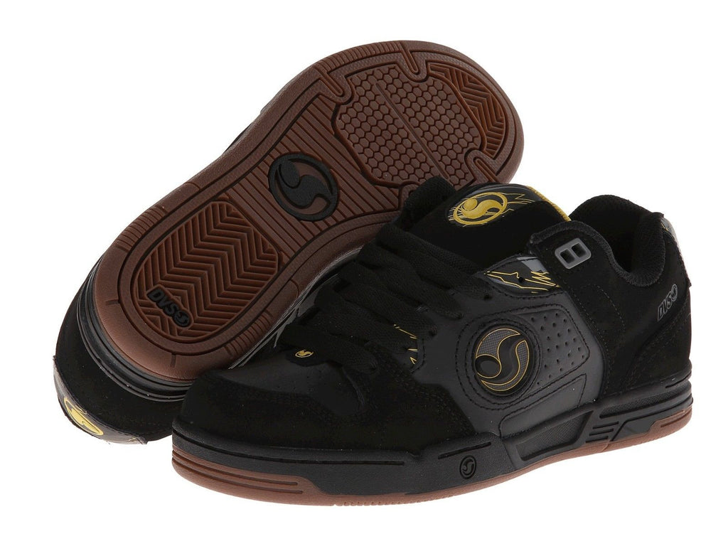 DVS Havoc - Black/Camo Nubuck 008 - Skateboard Shoes
