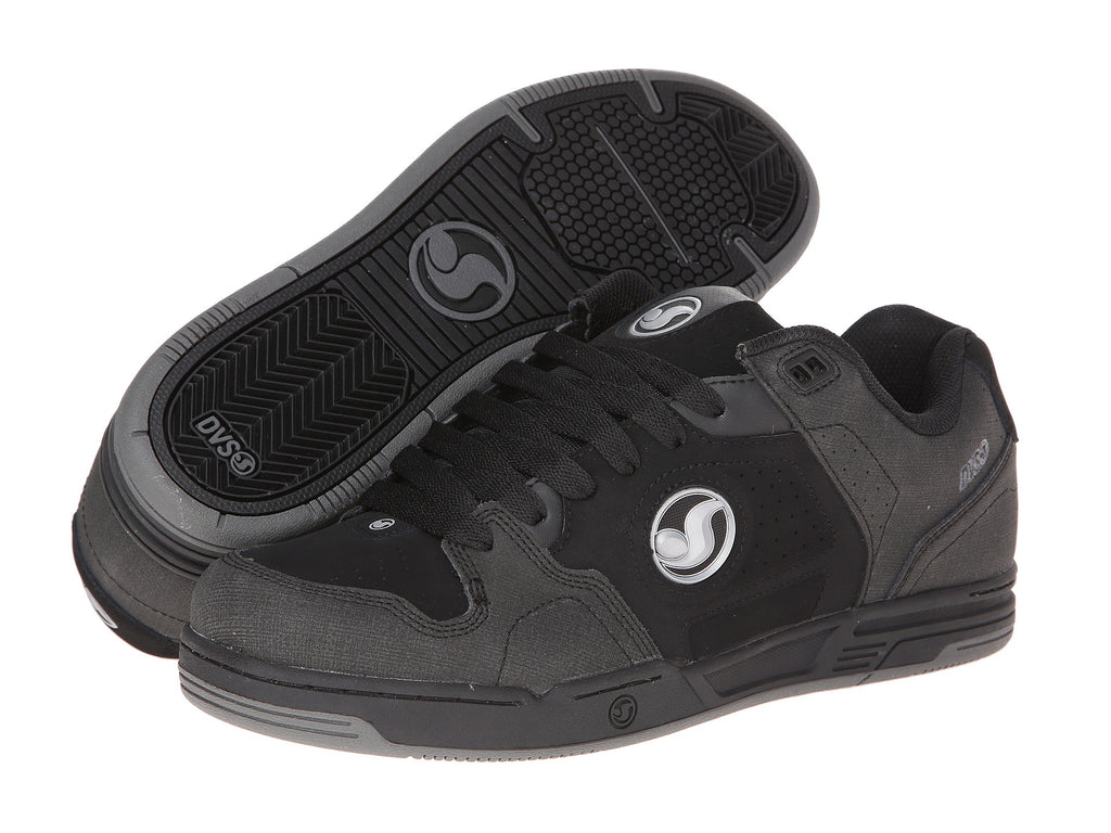 DVS Havoc - Black/Silver Nubuck 009 - Skateboard Shoes
