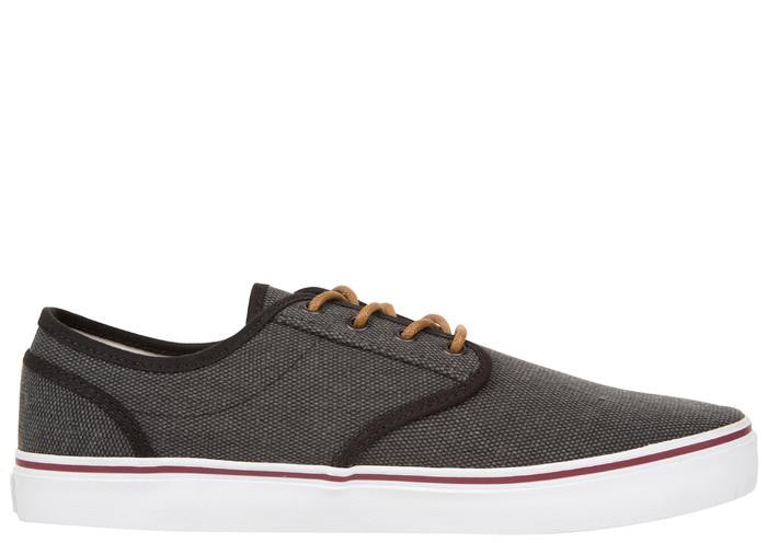 DVS Rico CT - Black Vintage Canvas 970 - Skateboard Shoes