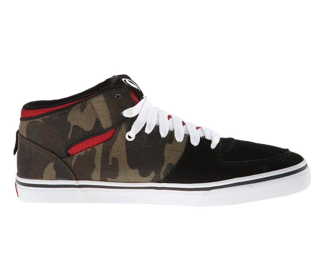 DVS Torey - Black/Camo 027 - Skateboard Shoes