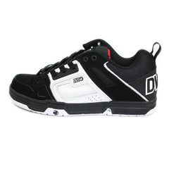 DVS Comanche - Black/White Nubuck 014 - Skateboard Shoes