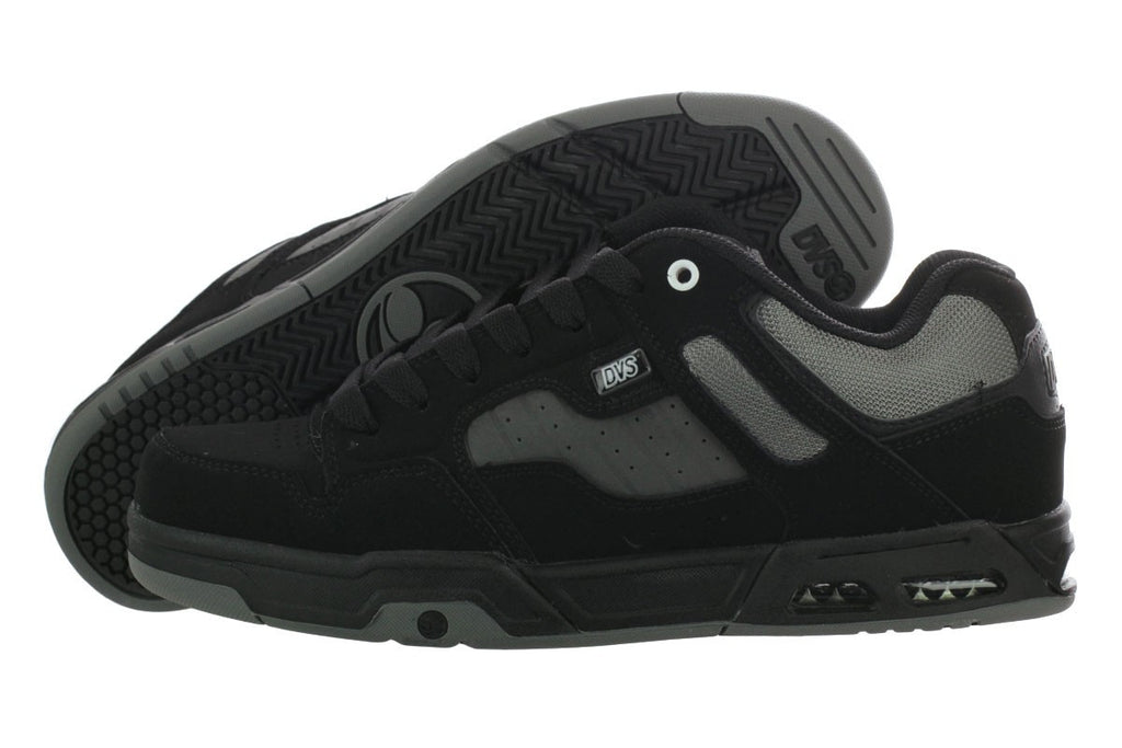DVS Enduro Heir - Black/Grey Nubuck 965 - Skateboard Shoes