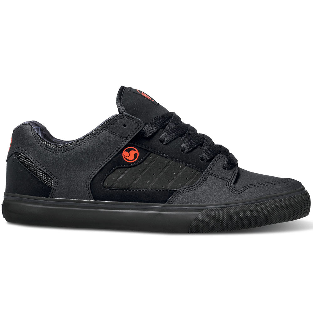 DVS Militia CT - Black/Red Nubuck 012 - Skateboard Shoes