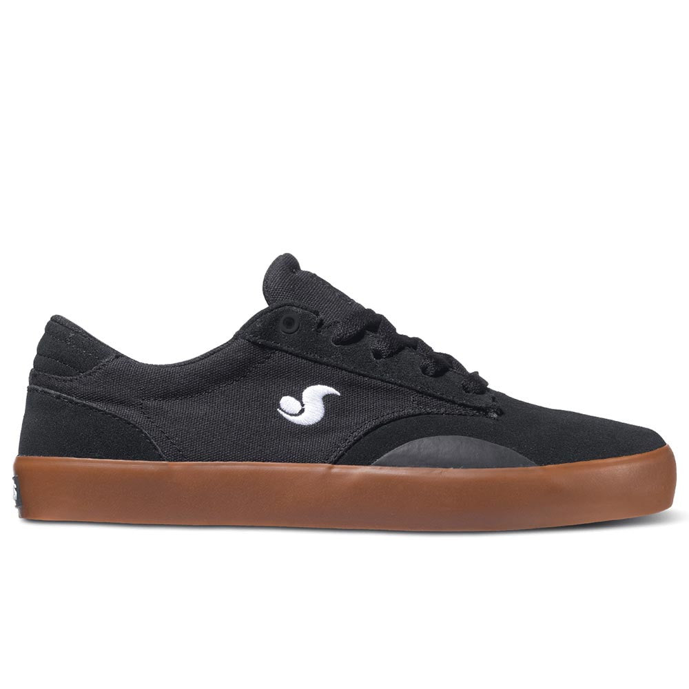 DVS Daewon 14 - Black/Gum Suede Canvas 005 - Skateboard Shoes