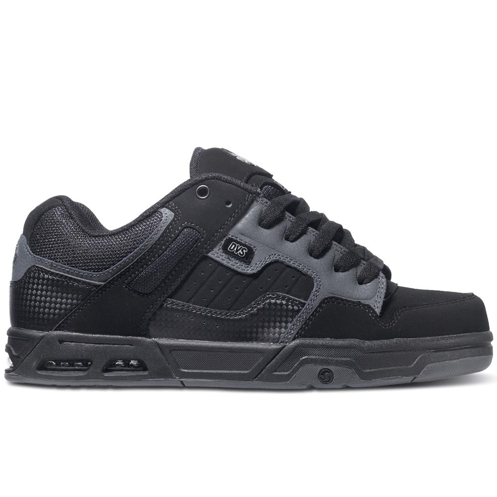 DVS Enduro Heir - Black/Grey Trubuck Deegan 971 - Skateboard Shoes
