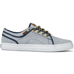 DVS Aversa - Navy Chambray 411 - Skateboard Shoes