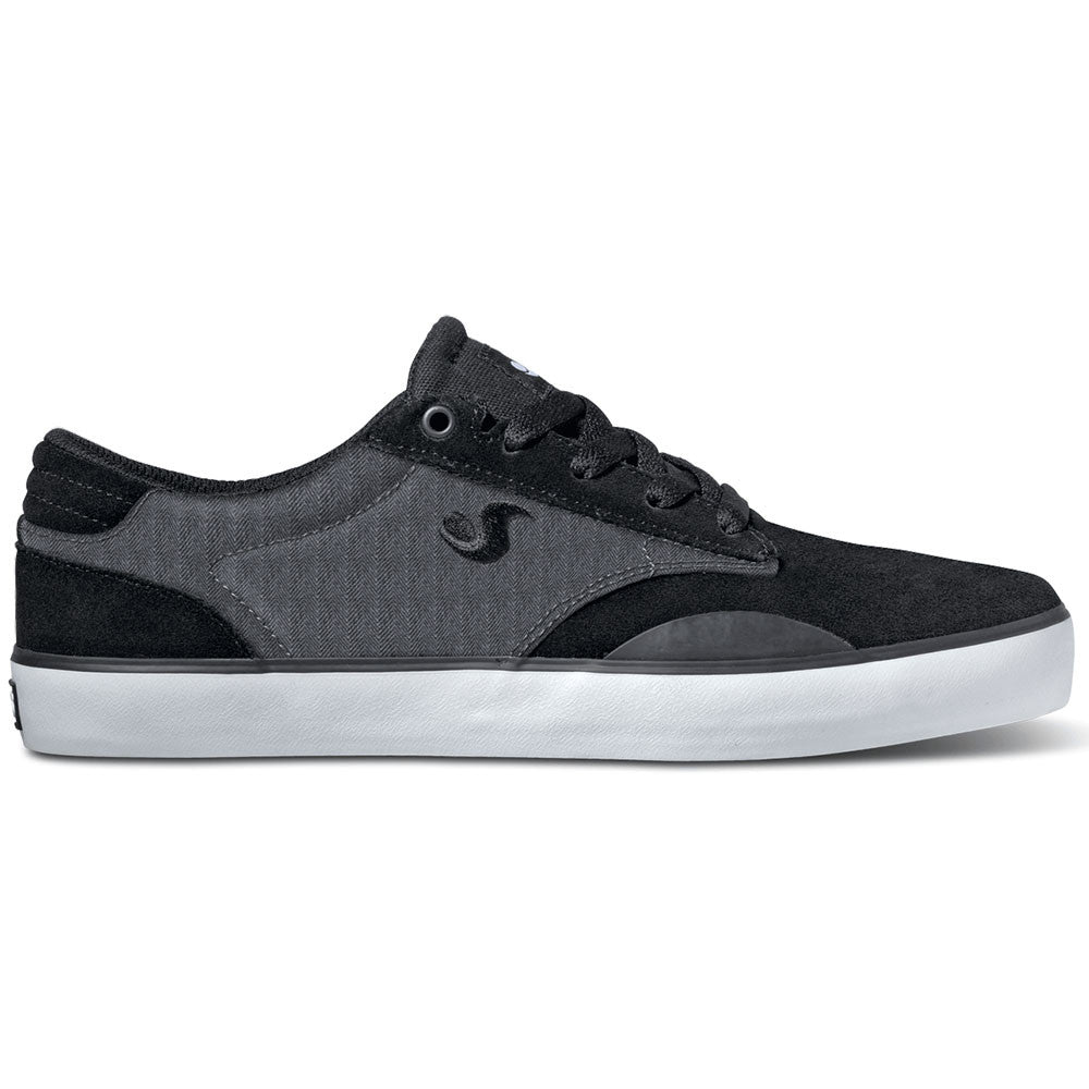 DVS Daewon 14 - Black Herringbone 004 - Skateboard Shoes