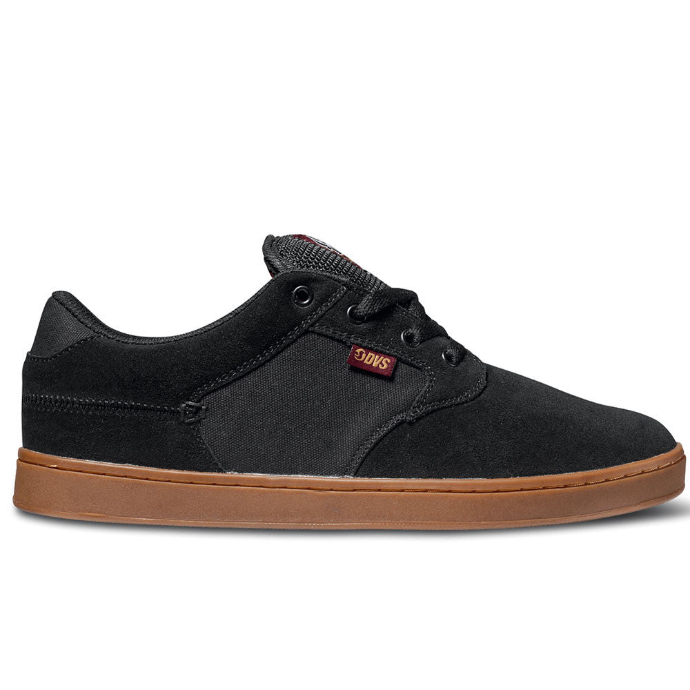 DVS Quentin - Black Port Gum 008 - Skateboard Shoes