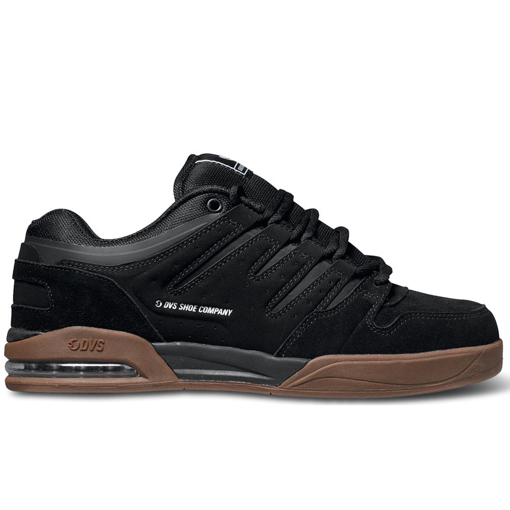 DVS Tycho - Black/Gum Nubuck 004 - Skateboard Shoes