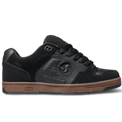 DVS Discord - Black/Gum Nubuck 009 - Skateboard Shoes