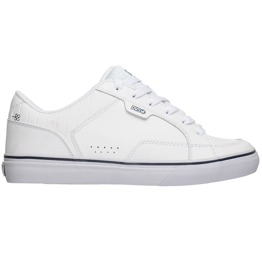 DVS Carson - White Leather - Men's Skateboard Shoes