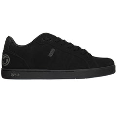 DVS Charge - Black'd Out Nubuck - Men's Skateboard Shoes