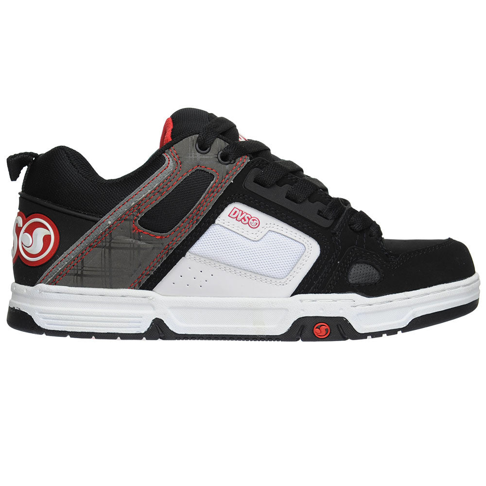 DVS Comanche - Black/White  - Men's Skateboard Shoes