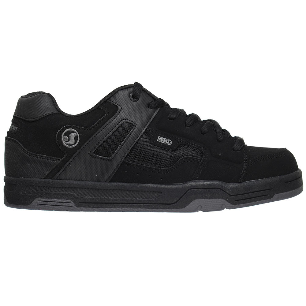 DVS Enduro - Black Nubuck - Men's Skateboard Shoes