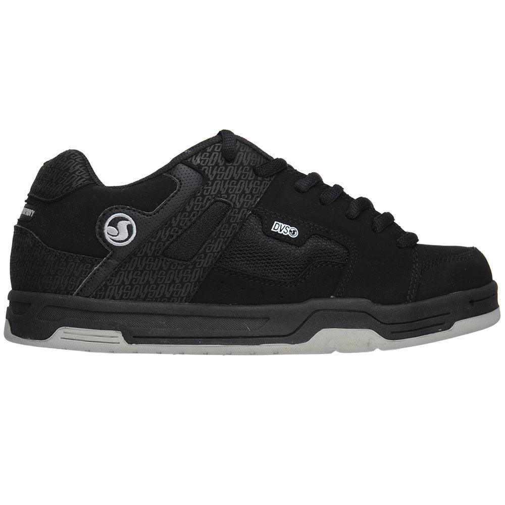 DVS Enduro - Black Print Nubuck - Men's Skateboard Shoes